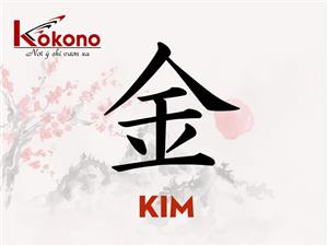 Kanji 金 - Kim - Vàng, kim loại