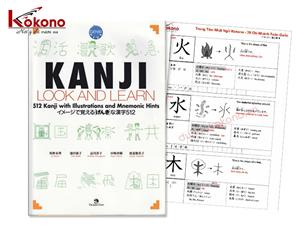 Giáo trình KANJI LOOK AND LEARN - PDF Bản Tiếng Việt - Cuốn sách học Kanji tuyệt vời nhất