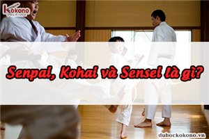 Senpai, Kohai và Sensei là gì? Mối quan hệ xã hội ở Nhật Bản