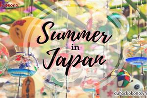 Từ vựng và thành ngữ tiếng Nhật về mùa hè