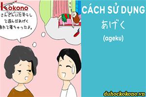Cách sử dụng あげく (ageku)