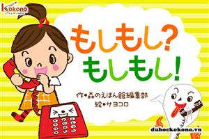Moshi moshi có nghĩa là gì ? Tìm hiểu về cách chào qua điện thoại