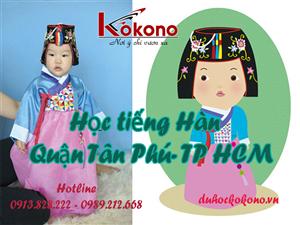 Khóa học tiếng Hàn uy tín tại Kokono Tân Phú - HCM