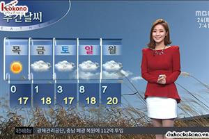 Nắm chắc trong tay 79 từ vựng tiếng Hàn về thời tiết