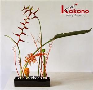 Dac trung Van hoa Tokyo - Nghe thuat ikebana - Kokono 2