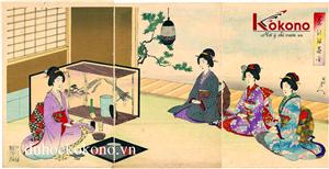 Dac trung Van hoa Tokyo - Nghi thuc tra dao nhat ban - Kokono