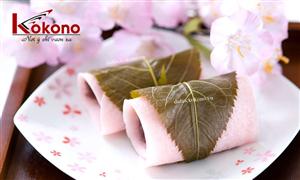 Văn hóa ẩm thực Nhật Bản - Hoa anh đào - Du học Nhật Bản Kokono
