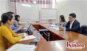Trường Đại học YoungSan - Hàn Quốc phỏng vấn du học sinh tại Kokono 2