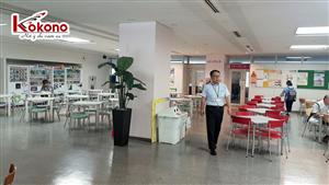 Kokono Công tác tại trường Sendai - Nhật Bản 8