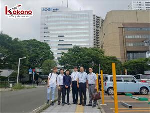 Kokono Công tác tại trường Sendai - Nhật Bản 11