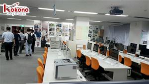 Kokono Công tác tại trường Sendai - Nhật Bản