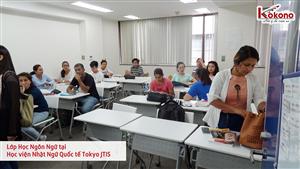 Học viện Nhật Ngữ Quốc tế Tokyo JTIS 20