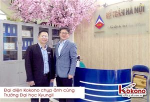 Trường Đại học Kyungil - Hàn Quốc làm việc cùng Kokono