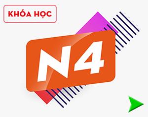 KHÓA HỌC TIẾNG NHẬT N4 - Kokono