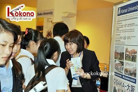 Ngày hội du học Nhật Bản ở đại học Kansai tại Hà Nội